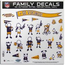 Minnesota Vikings Window Decals