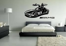 Wall Sticker Mural Decal Vinyl Decor Mercedes Benz Amg Need For Speed Ebay