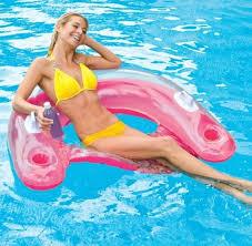 intex recreation sit n float 58859ep