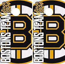 Boston Bruins Cornhole Skin Wrap Nhl Hockey Wood Decal Vinyl Sticker Dr466 Cornhole Bag Toss