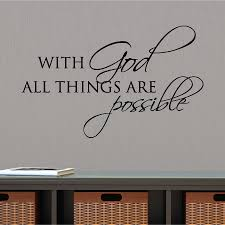 All Things Are Possible Wall Quotes Decal Wallquotes Com