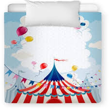 circus baby blankets toddler bedding