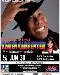 Calvin Smith sings Karen Carpenter,... - The Jazz Station   Facebook
