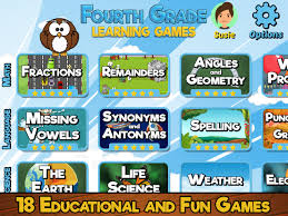 fourth grade educational games