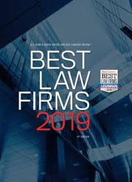 best law firms 2019 by best lawyers