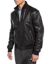 napa leather er jacket