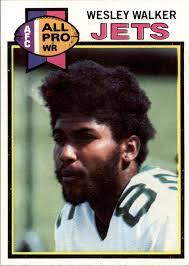 1979 Topps Cream Colored Back #141 Wesley Walker AP - EX
