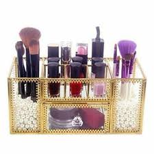 gold lace perfume cosmetic holder