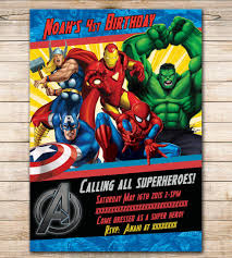 Avengers Birthday Invitation Google Search Visit To Grab An