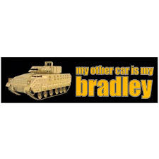 My Other Car Is A Bradley Decal