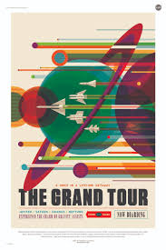 e tourism travel posters from nasa