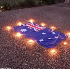 stand on their driveways for Anzac Day ...