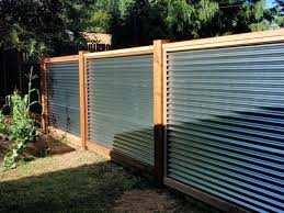 Low Garden Fencing Ideas Uk 8 Amazing Budget Fence Gardening Flowers Galvanised Metal As Your Umdes Corrugated Metal Fence Privacy Fence Designs Fence Design