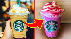 10 starbucks secret menu frappuccinos
