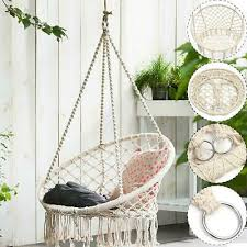 safe hanging hammock chair swing rope