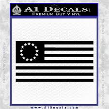 Betsy Ross Flag American Decal Sticker A1 Decals