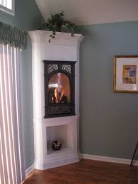 corner fireplace electric