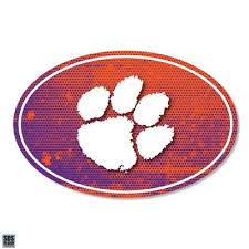 Clemson Tigers Clemson Automotive Decals Alumni Hall
