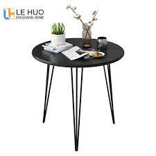 compact small dinning table black white