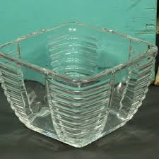 art deco glass bowls on wanelo