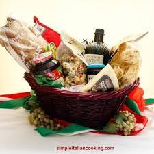italian gift basket ideas for
