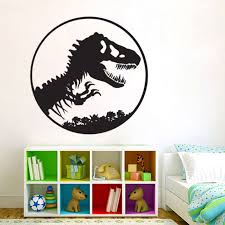 Jurassic Park Logo Vinyl Wall Art Decal