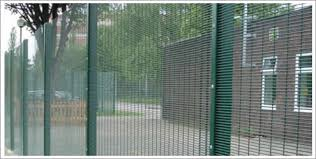 Hot Dip Galvanized High Security 358 Mesh Prison Fence