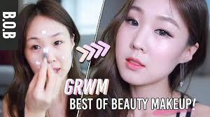 korean look how i bake my makeup