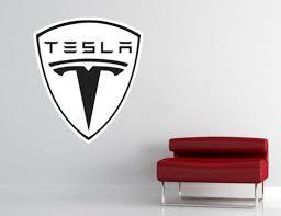 Home Decor Tesla Logo Wall Decal Vinyl Sticker Luxury Car Garage Art Decor Many Colors L345 Unitransbahia Com Br