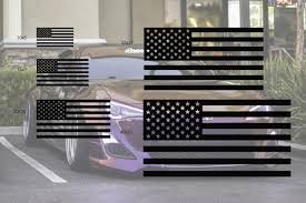 Universal American Flag Window Decal Set Premium Auto Styling