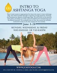 intro to ashtanga yoga jois yoga