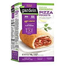 gardein meatless pepperoni pizza