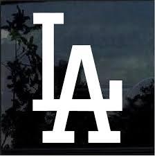 La Dodgers Window Decal Sticker Aftermarket Replacement Non Factory Custom Sticker Shop