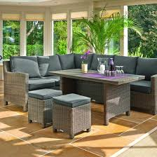 kettler palma corner sofa set natural