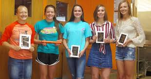 Lady Jackets track team honored