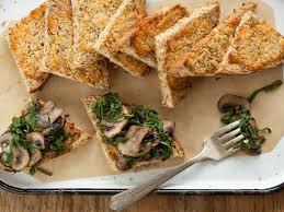 recipe mushroom and chard bruschetta