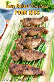how to cook boneless pork ribs in the