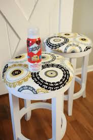 diy bar stool makeover helpful homemade