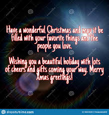 merry christmas and happy new year wishes written on abstract