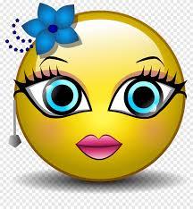 Emoticon Smiley الرسوم المتحركة Emoji Kiss Smiley متنوعة وجه Png