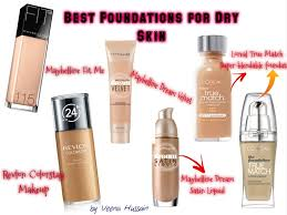 best makeup for very dry skin
