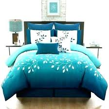 teal bedding sets grey comforter