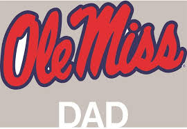 Amazon Com Stockdale Mississippi Ole Miss Rebels Transfer Decal Dad Sports Outdoors