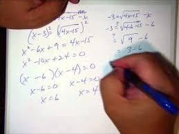 solving equations with radicals kuta