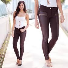 pants brown pants leather pants