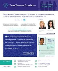 Winter 2020 Newsletter by Texas Women's Foundation - issuu