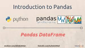 pandas dataframe a lightweight intro