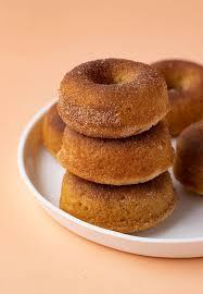 baked cinnamon sugar donuts sweetest menu