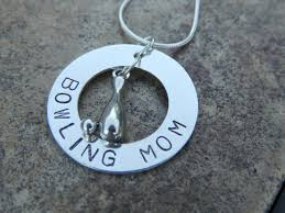 necklace for bowlers bowling mom charm