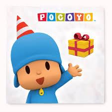 Amazon Com Pocoyo Lunch Napkins 20 Toys Games Pocoyo